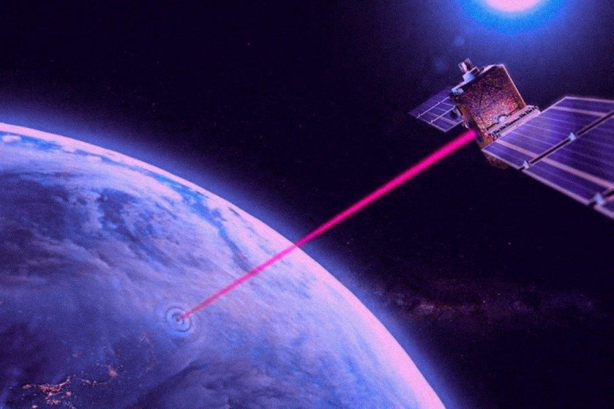 lazer uydu