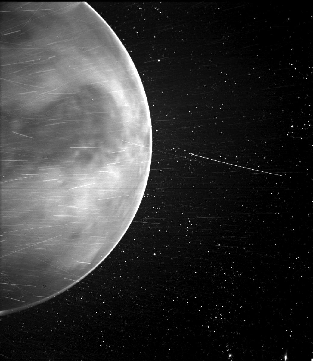 Parker Güneş Sondası, Venüs ü fotoğrafladı #1