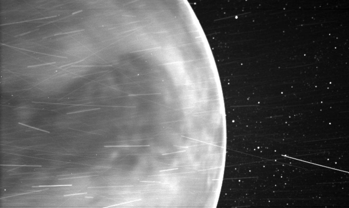 Parker Güneş Sondası, Venüs ü fotoğrafladı #2